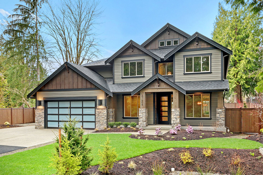 Lake Lucern Homesite 10 in Maple Valley - Now ready for showing by appointment.