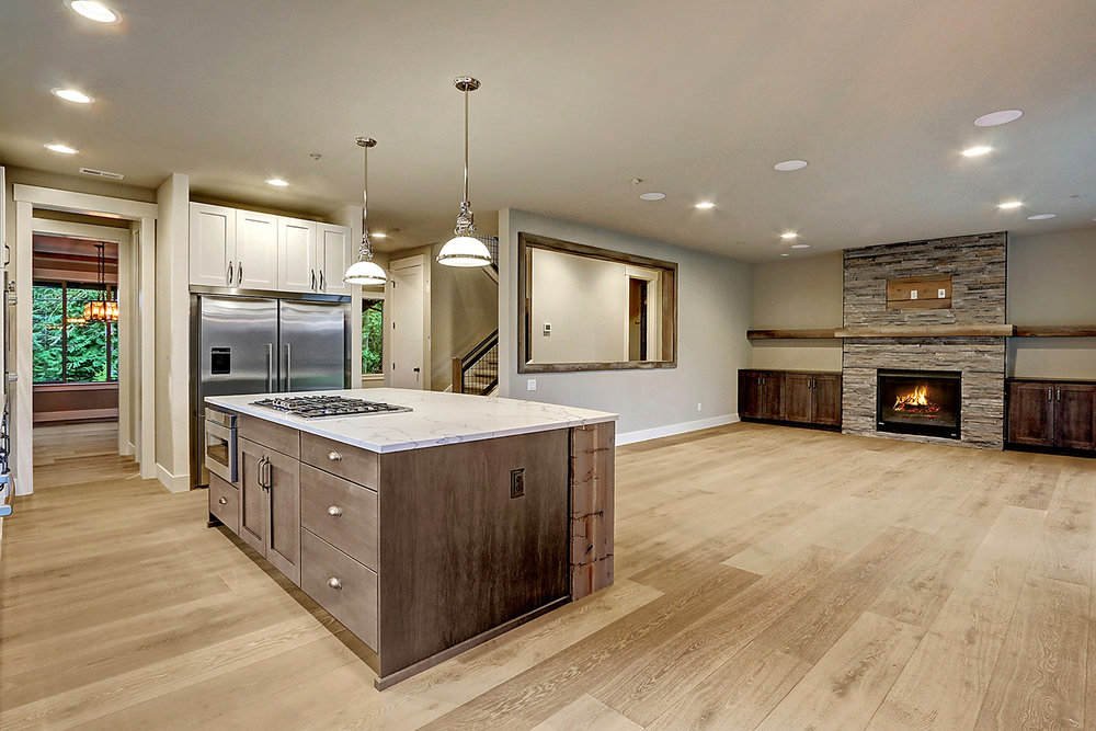 Hardwood Flooring Throughout Main Floor Living Area