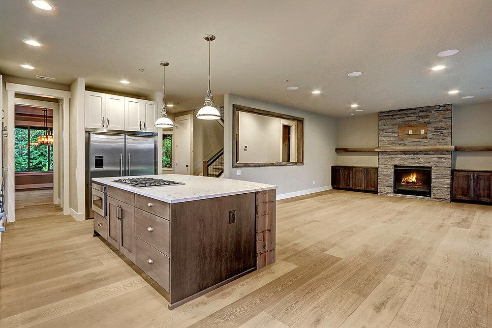 Hardwood Flooring Throughout Main Floor Living Area