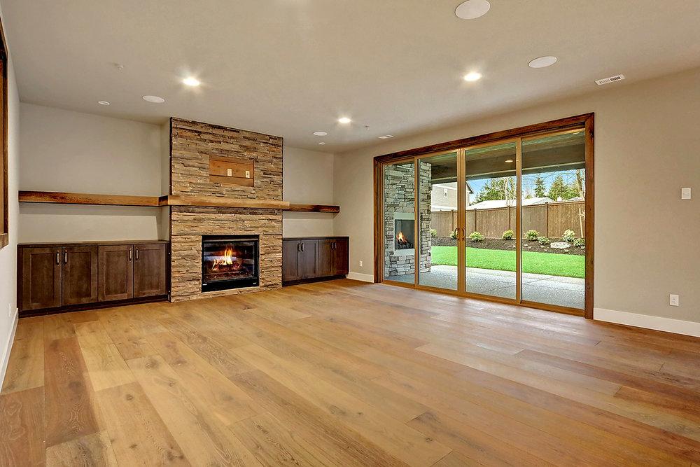 Windor® Accordion Doors Fully Open To Integrate Indoor and Outdoor Living Areas