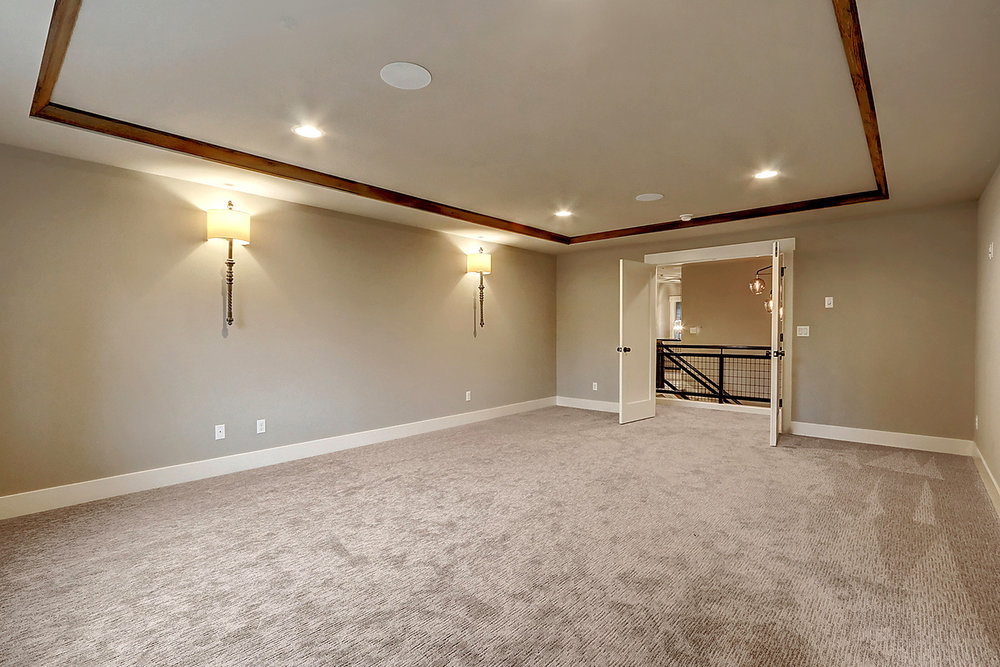 Master Bedroom Suite - Double Door Entry and Wall Sconces