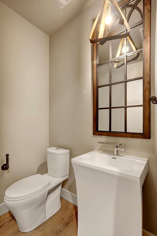 Main Floor Powder Room (Half bath)