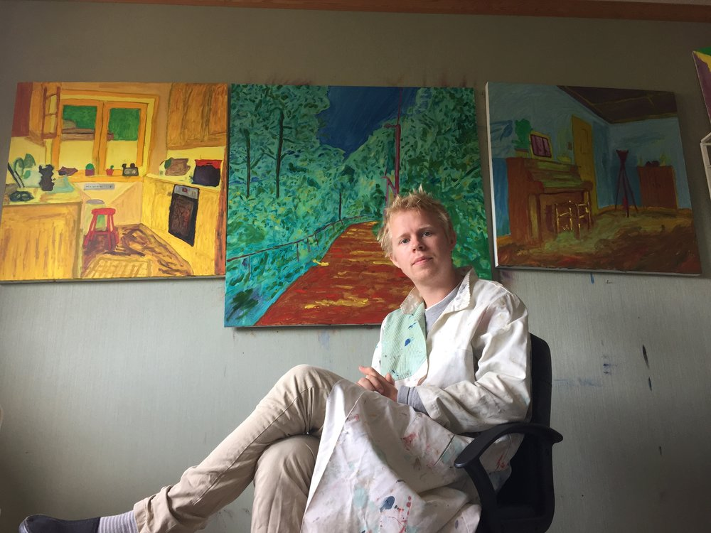 HAYT Axel Vindenes from KMF ready with debut exhibition