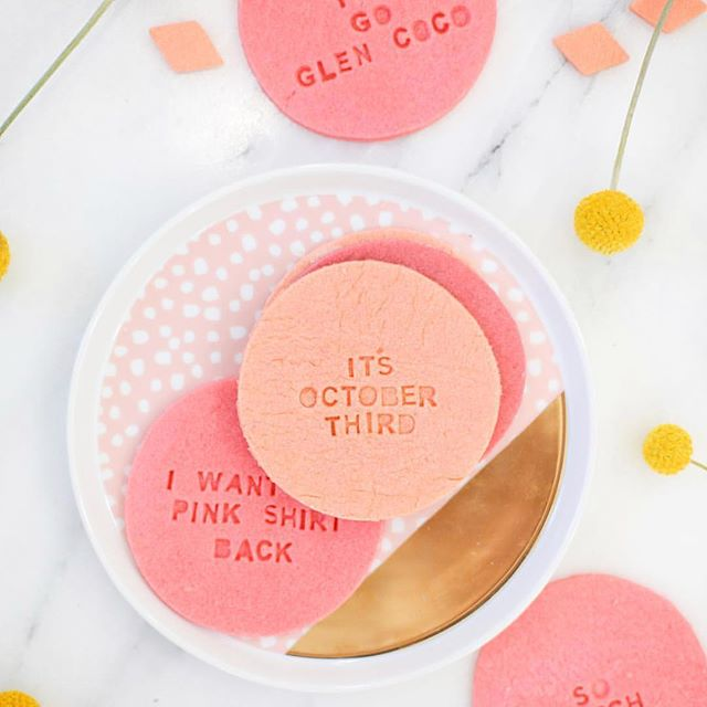These #meangirls cookies from @lovelyindeed are SO fetch. 🎀  _ #onwednesdayswewearpink #stylemakr #stylemakr18 #wcw #therulesofstylemakr #blogger #bloggerworkshop #lablogger #labloggers #ocblogger #ocbloggers #losangeles #fblogger #bblogger #beautyblogger #fashionblogger #losangelesblogger #hustle #mycreativebiz #creativeentrepreneur #dowhatyoulove #lifestyleblogger #blogger #styleblogger #bloggerlife #bloggers#bloggerbabe