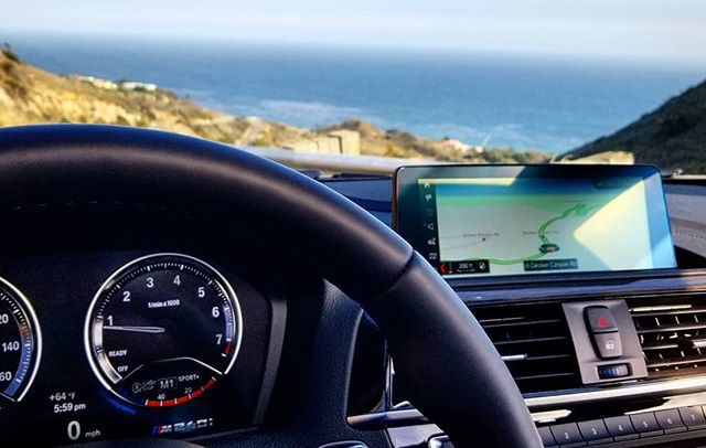 Heading to #FPANexGen in Santa Barbara but first... Canyon run to PCH for these views #NxG18