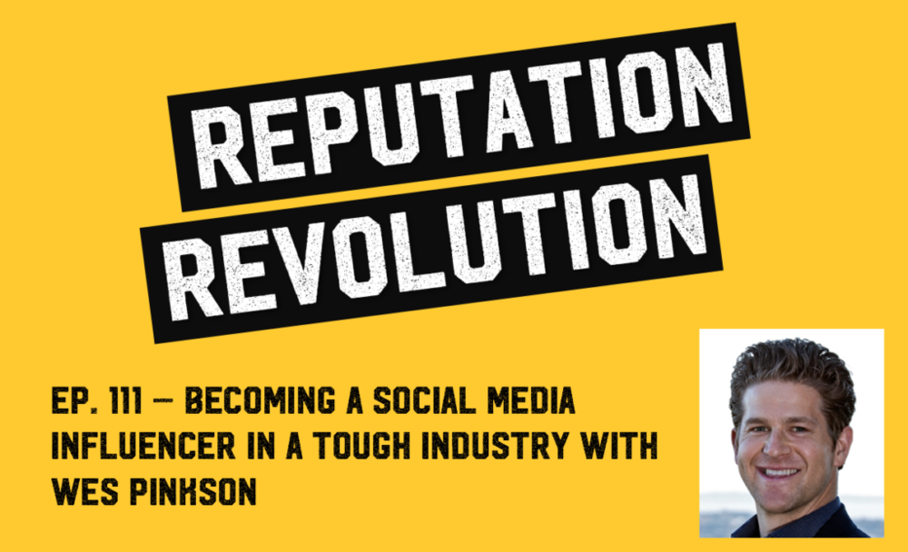 Becoming a social media influencer in a tough industry with Wes Pinkston - We discuss the full gamut of social media, from Twitter and Facebook through to LinkedIn and blogging, including the importance of making every tweet count, the power of human connection when it comes to social networking, and why having a compelling purpose is critical in business today.