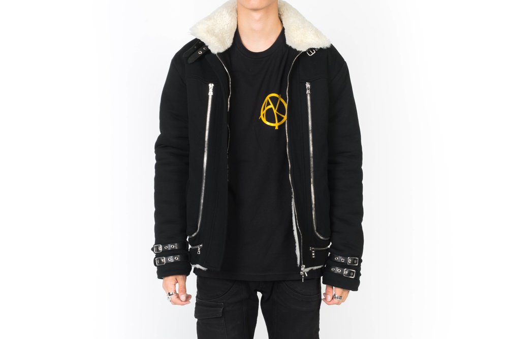- 5. Buffy Shearling JacketDesigned for those who's constantly on the move even through the blistering wind. Help them stay strapped and cozy with this jacket.