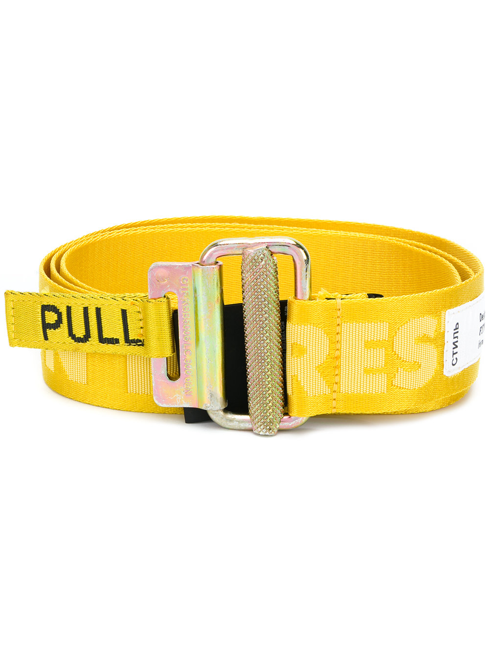 - Heron Preston Logo Tape Belt$137