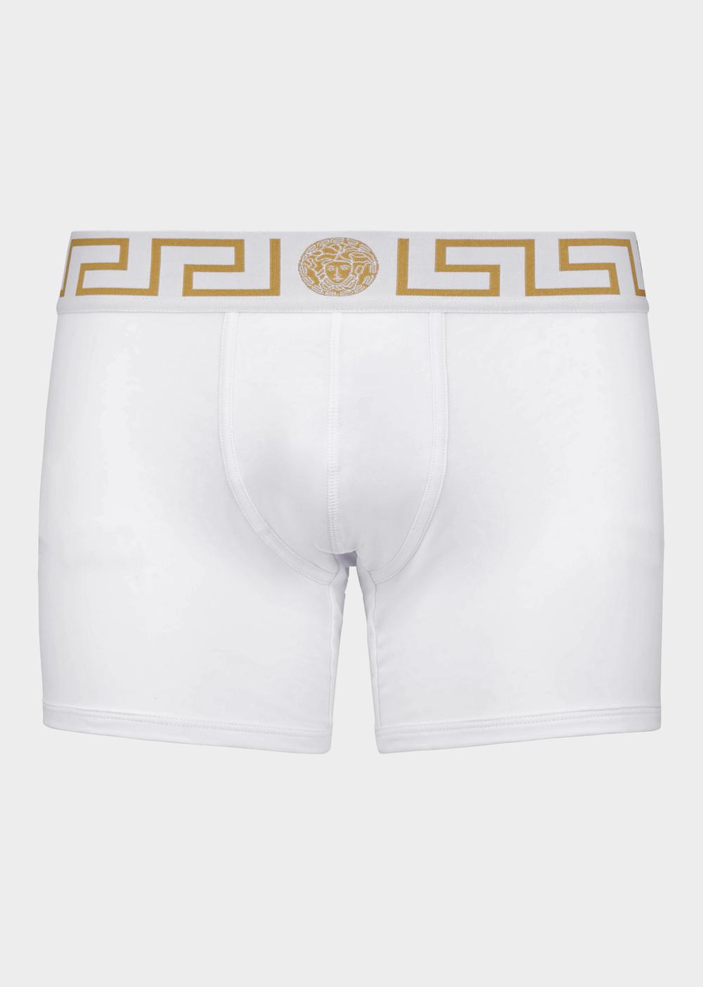 Versace - White Low-Rise Medusa Boxer Briefs