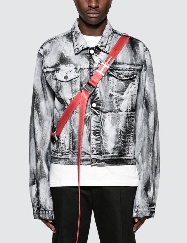 - Heliot Emil Black Ash Jacket$525