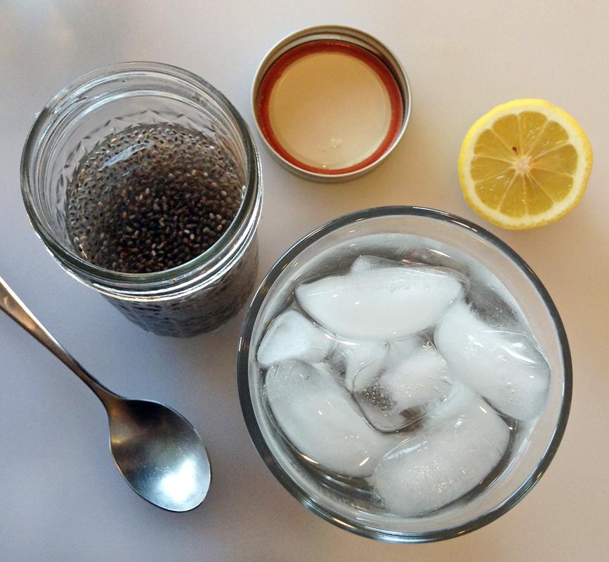 chia seed gel recipe