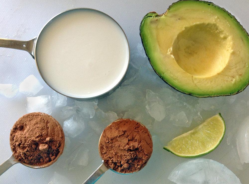keto chocolate avocado smoothie recipe