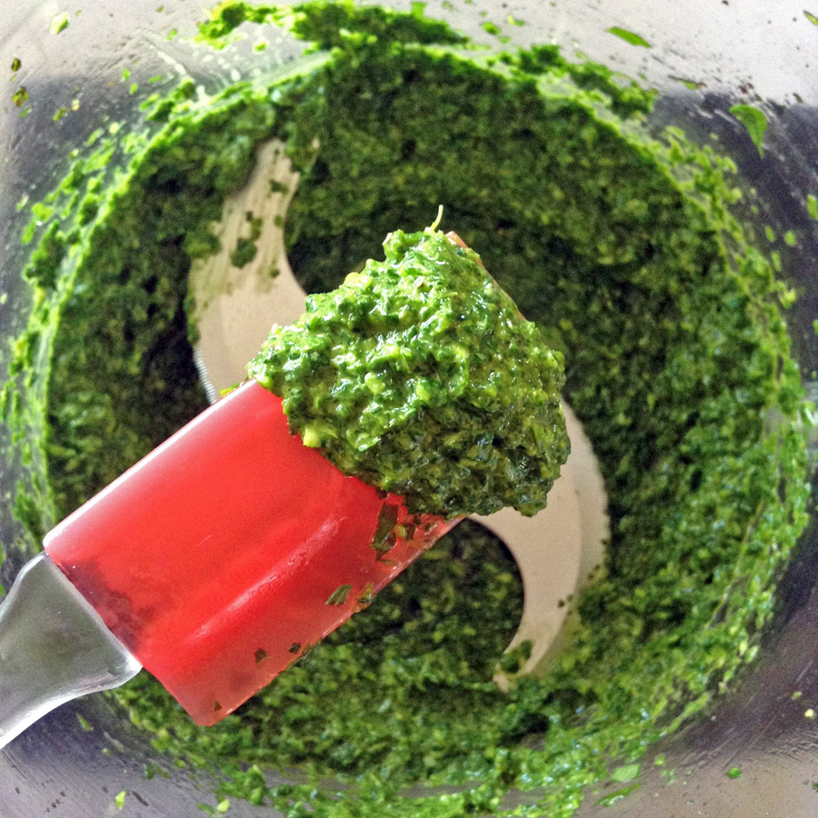 how to make basil pesto recipe for keto diet