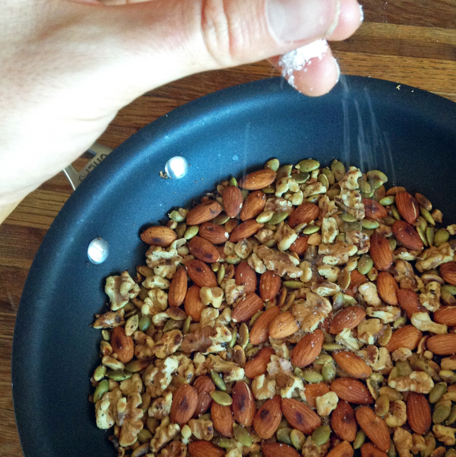 toasted nuts for easy pesto recipes and keto meals