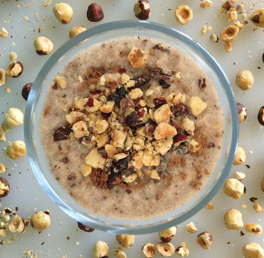 Hazelnut shake recipe and easy keto shake recipe