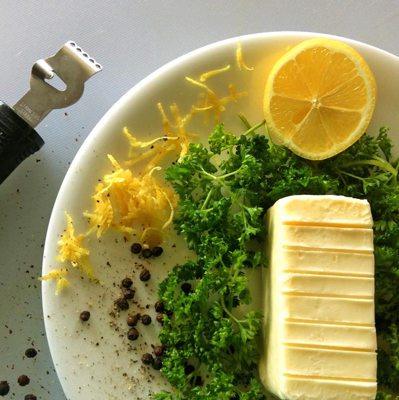 keto butter recipe and herbed lemon butter for keto diet