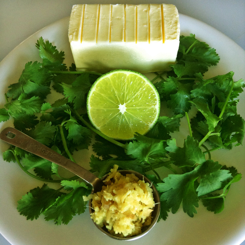 cilantro lime butter and herb keto butter recipe for ketogenic recipes