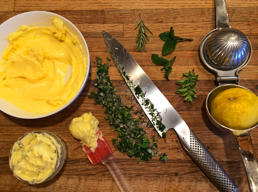 herb butter recipe and keto butter recipe for ketogenic diet