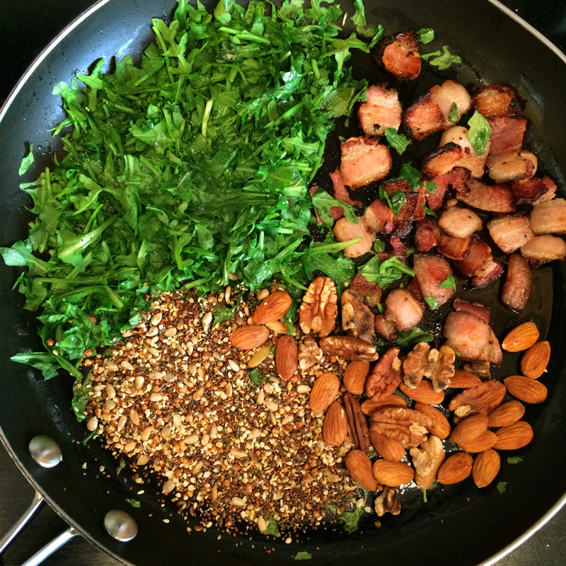 sauteed greens for the ketogenic recipes diet and blog