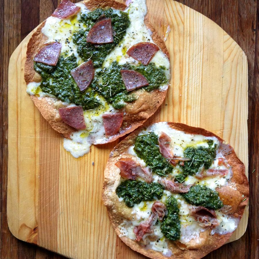 easy pesto pizza recipe for keto dinner recipes
