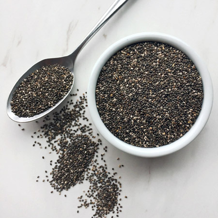 chia seeds for the keto shopping list and ketogenic diet