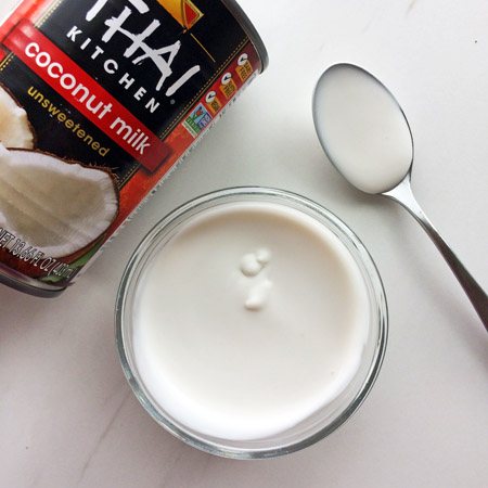 keto coconut milk for the ketogenic diet and recipes