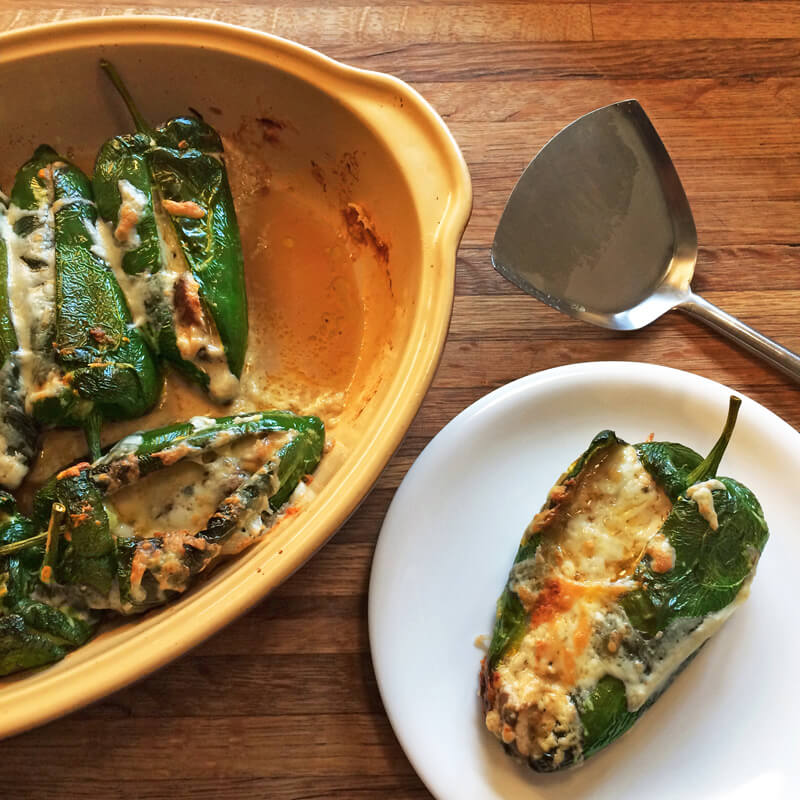 easy keto rellenos recipe for keto dinner and baked chili rellenos