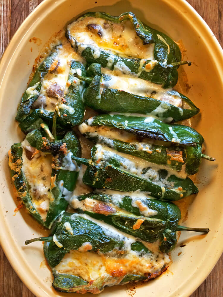 Keto chili rellenos recipe for dinner. Make this recipe for weight loss on the ketogenic diet.