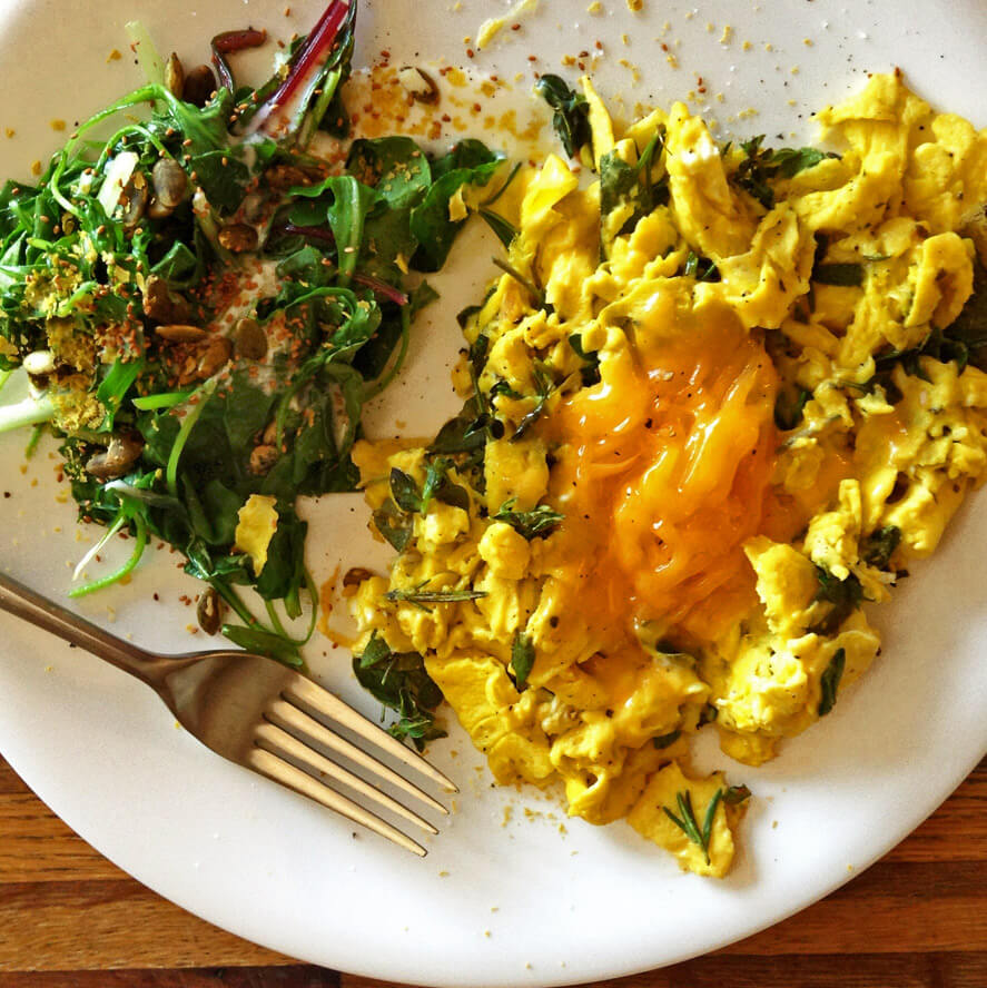 Keto Scrambled Eggs