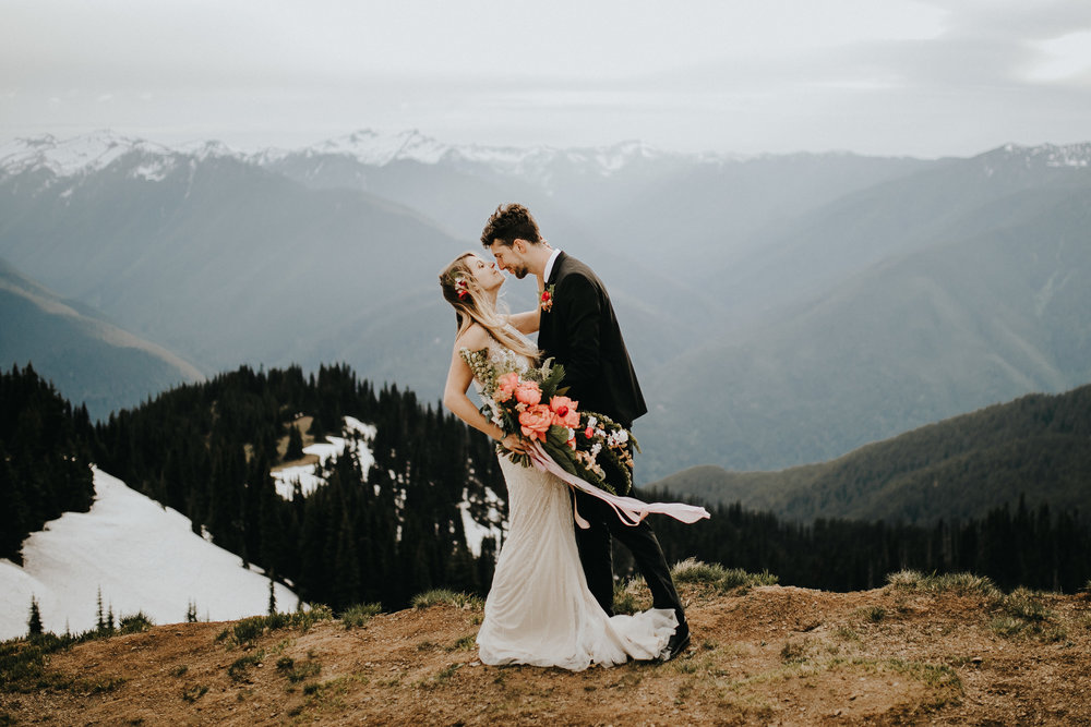 hurricane ridge pnw Seattle wedding photographer