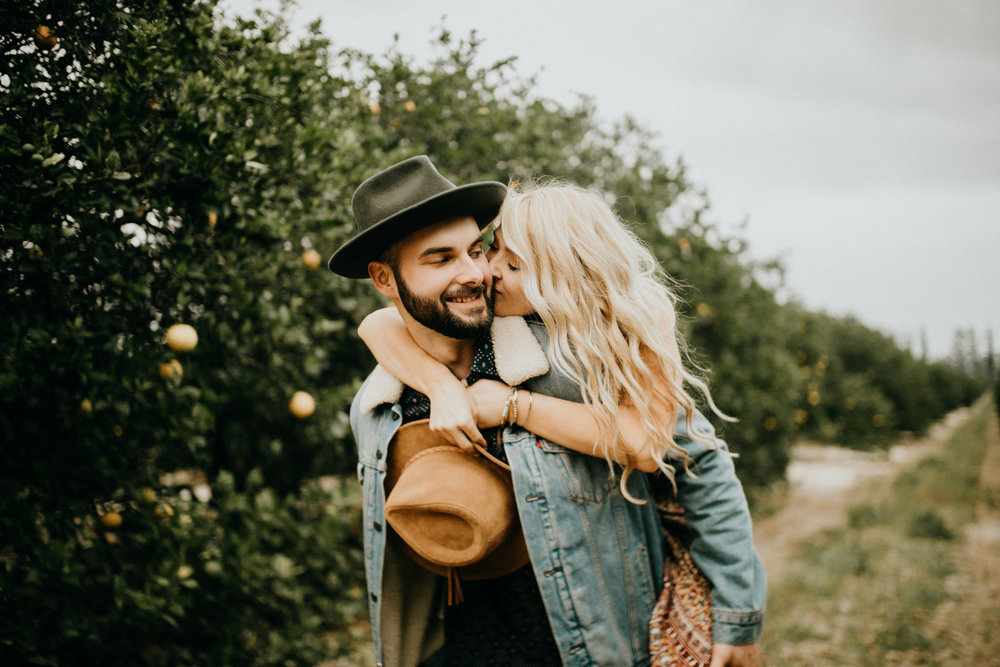 LUCAS + LEXI// ORANGE GROVE LOVERS -