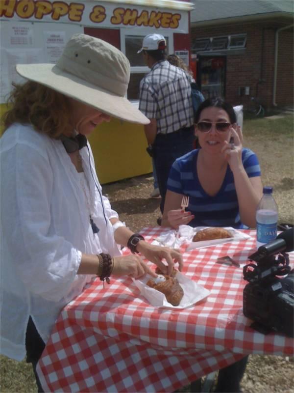 fried pie and Sarissa