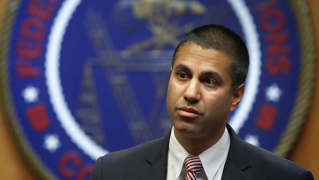 FCC Chairman Ajit Pai. Photo: Slate.com.