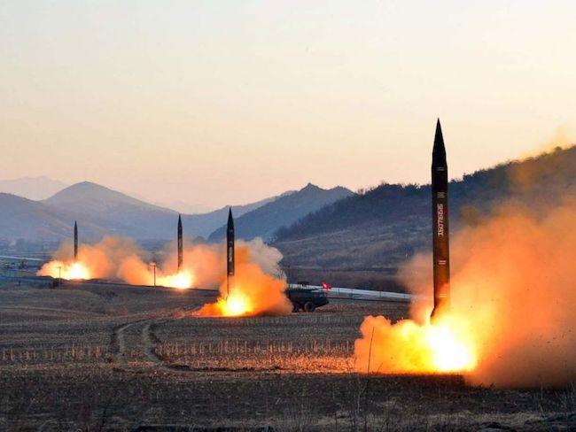 North Korean missiles preparing to launch. Photo: ABC News.