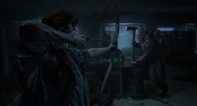 A battle-hardened Ellie confronts dangerous new assailants in  The Last of Us 2 .