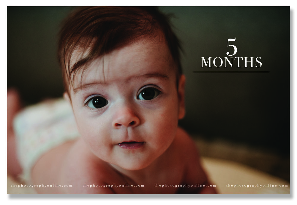 week six - 1/7/18 our peanut is five months old!!!!!!!