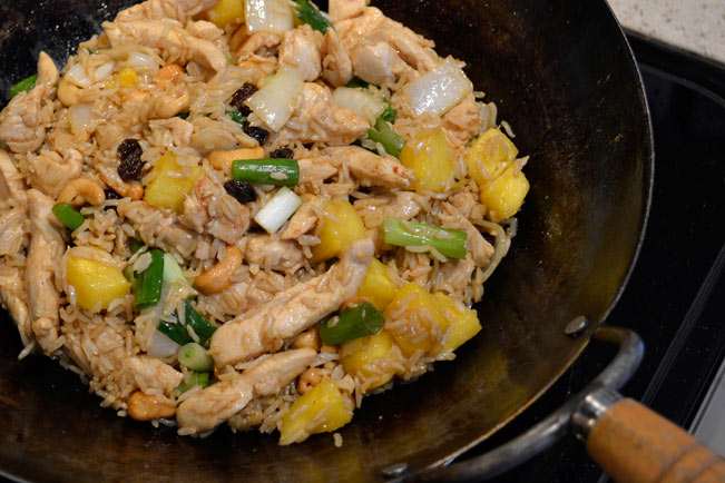 Pineapple Cashew Chicken Fried Rice | The Life Delicious | Catherine Roscoe Barr