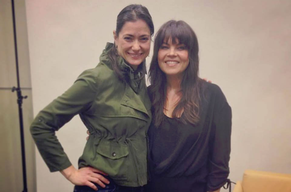 Me and the cool, calm and fabulous Danielle LaPorte at the Real Talk Summit