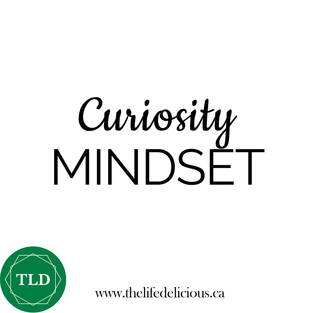 MINDSET >>> I just love using the #CuriosityMindset! It's such a powerful way to create an upward spiral. Whenever you become aware that you're feeling discomfort, resistance, worry, unhappiness, restlessness, overwhelmed or guilt, give yourself the time and space to create a constructive, empowering QUESTION about your situation. Questions that start with HOW and WHERE are a great place to start! How did this feeling arise? Where did it come from? How can you shift it? Where can you look for applicable resources?  #TheLifeDelicious curriculum shares 7 different mindset shifts to transform the way you think, act and LIVE:⁣⠀⠀⠀⠀⠀⠀⠀⠀⠀ ⁣⠀⠀⠀⠀⠀⠀⠀⠀⠀ ⁣⠀⠀⠀⠀⠀⠀⠀⠀⠀ 1. Challenge Mindset⁣⠀⠀⠀⠀⠀⠀⠀⠀⠀ ⁣⠀⠀⠀⠀⠀⠀⠀⠀⠀ ⁣⠀⠀⠀⠀⠀⠀⠀⠀⠀ 2. Connection Mindset ⁣⠀⠀⠀⠀⠀⠀⠀⠀⠀ ⁣⠀⠀⠀⠀⠀⠀⠀⠀⠀ ⁣⠀⠀⠀⠀⠀⠀⠀⠀⠀ 3. Curiosity Mindset ⁣⠀⠀⠀⠀⠀⠀⠀⠀⠀ ⁣⠀⠀⠀⠀⠀⠀⠀⠀⠀ ⁣⠀⠀⠀⠀⠀⠀⠀⠀⠀ 4. Good-Enough Mindset ⁣⠀⠀⠀⠀⠀⠀⠀⠀⠀ ⁣⠀⠀⠀⠀⠀⠀⠀⠀⠀ ⁣⠀⠀⠀⠀⠀⠀⠀⠀⠀ 5. Growth Mindset ⁣⠀⠀⠀⠀⠀⠀⠀⠀⠀ ⁣⠀⠀⠀⠀⠀⠀⠀⠀⠀ ⁣⠀⠀⠀⠀⠀⠀⠀⠀⠀ 6. Positivity Mindset ⁣⠀⠀⠀⠀⠀⠀⠀⠀⠀ ⁣⠀⠀⠀⠀⠀⠀⠀⠀⠀ ⁣⠀⠀⠀⠀⠀⠀⠀⠀⠀ 7. Recovery Mindset⁣⠀⠀⠀⠀⠀⠀⠀⠀⠀ ⁣⠀⠀⠀⠀⠀⠀⠀⠀⠀ ⁣⠀⠀⠀