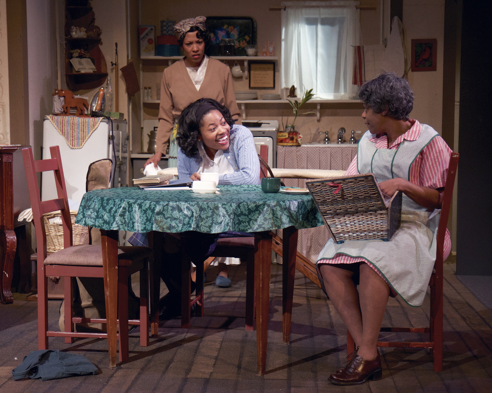 (Home AND Gallery), Nhadya as Beneatha Younger in A Raisin in the Sun, Open Stage Theater.jpg