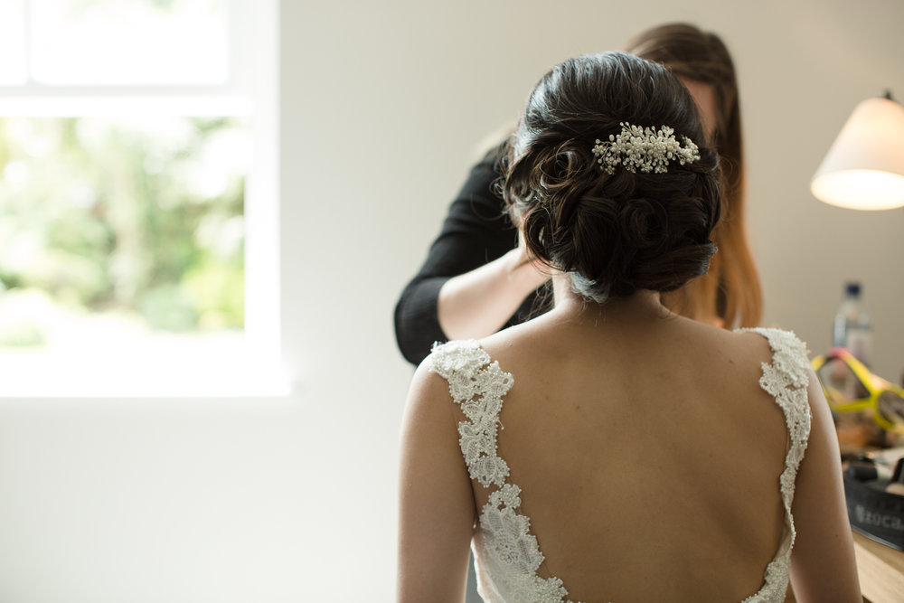 Bridal hair Surrey