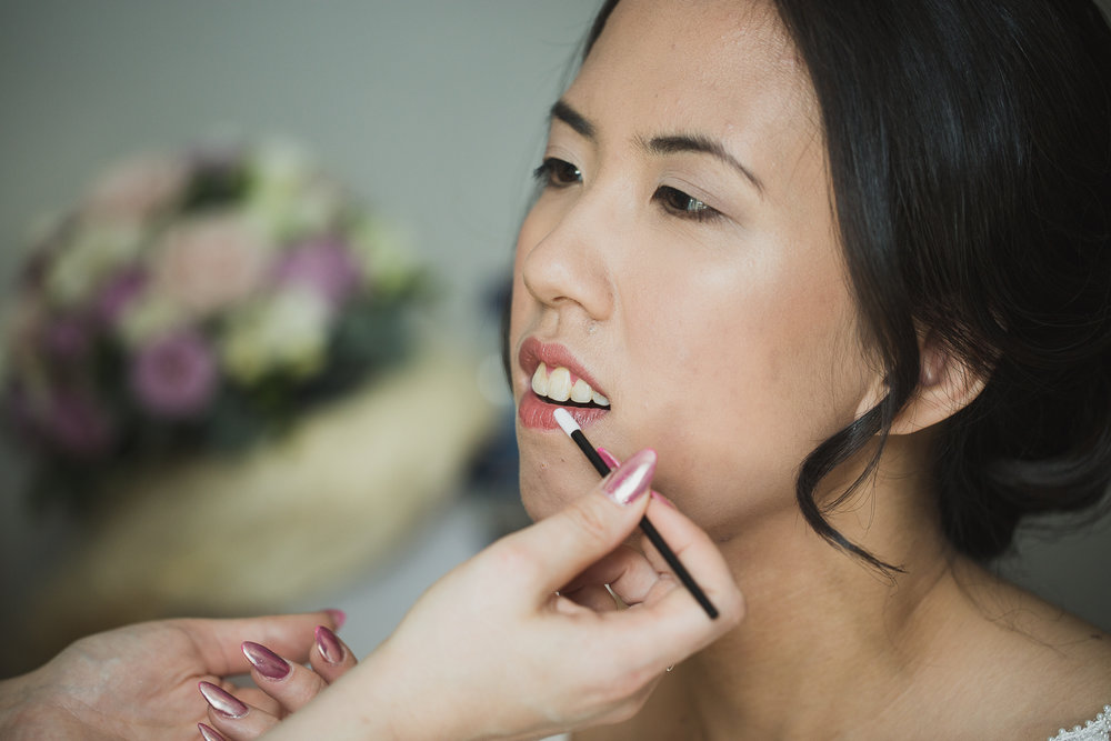 Bridal make-up Surrey