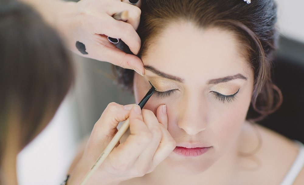 Bridal hair and make-up artist Surrey