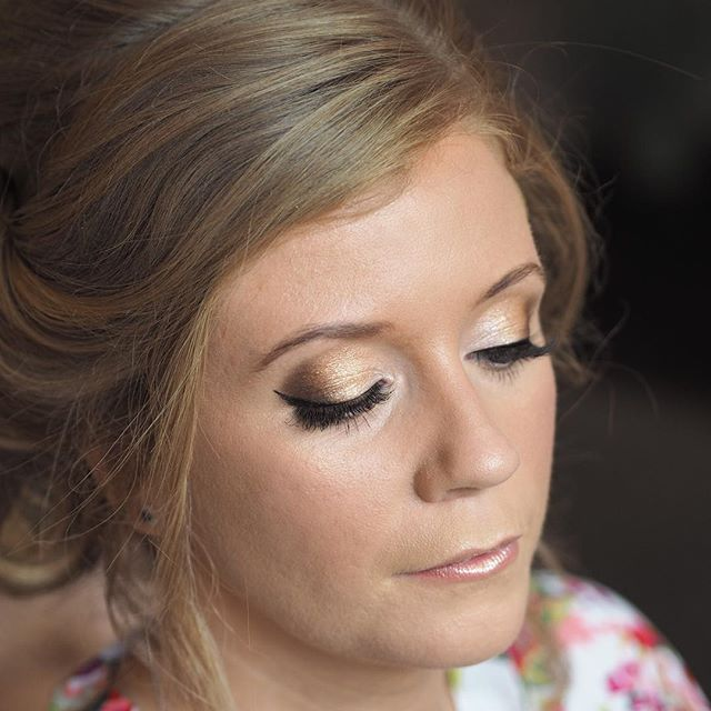 "What an amazing weekend full of beautiful brides 😍👰🏼... here is the gorgeous Siobhan. After two years of planning, she finally said ""I do"" 🎉 I used the @iconic.london eyeshadow palette using champagnes, golds and a touch of deep brown in the outer corners of the eye. I have been completely obsessed with this palette and you can see why! I hope you had the best day  Siobhan, thank you so much for having me! #makeupartist #hairstylist #iconiclondon #eyeshadowpalette #bride #bridalmakeup #WottonHouse #wedding #realwedding #allthingsbridal #surreymakeupartist #cljmakeup"