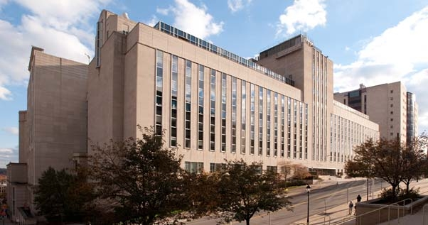 We are located on the 8th floor of Scaife Hall, home of the  University of Pittsburgh School of Medicine