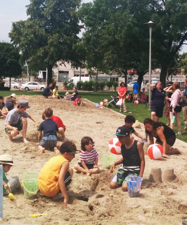 Sandbox Project - 2015 Pan Am Parapan Am Giant Sandbox