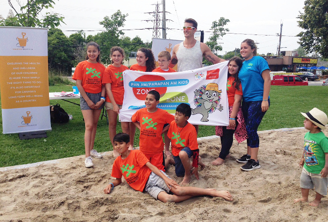 Sandbox Project - 2015 Pan Am Parapan Am Giant Sandbox - Martin Reader