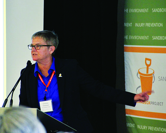Sandbox Project Conference - Christine Hampson