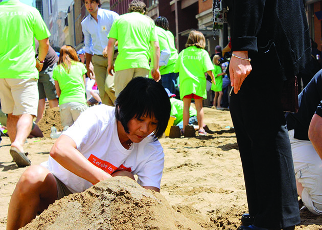 Sandbox Project - World's Largest Sandbox - Olivia Chow