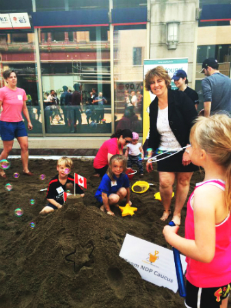 Sandbox Project - World's Largest Sandbox - Carol Hughes